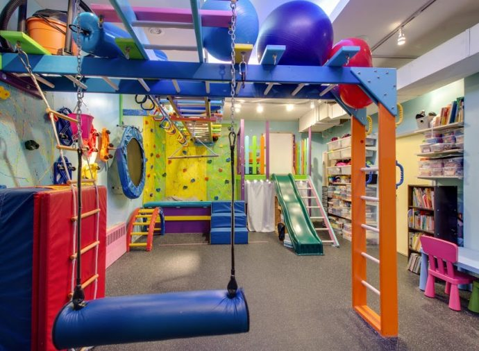 Full service pediatric sensory gym theraplay nyc